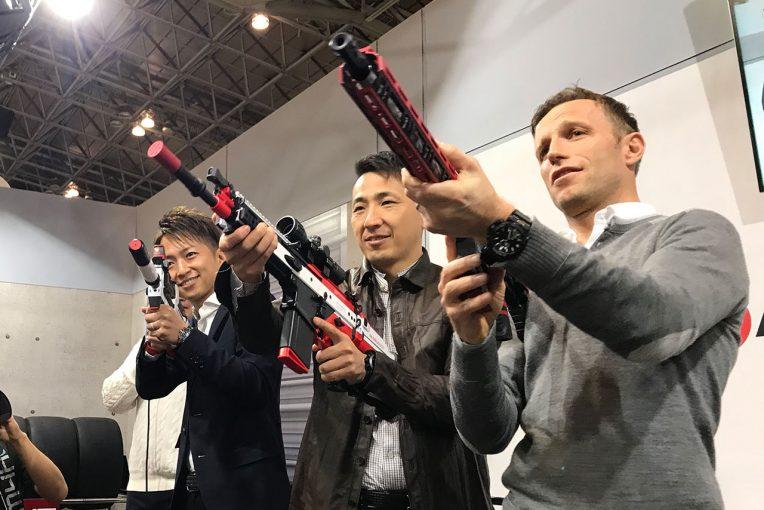 スーパーGT | 東京オートサロン2020にGT500&WECカラーのエアガン登場。チェカレンジャーも納得の仕上がり