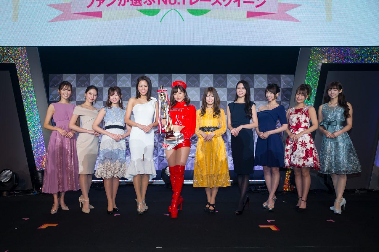 人気No.1レースクイーンを決める日本レースクイーン大賞2019。川村那月さんがグランプリに輝く
