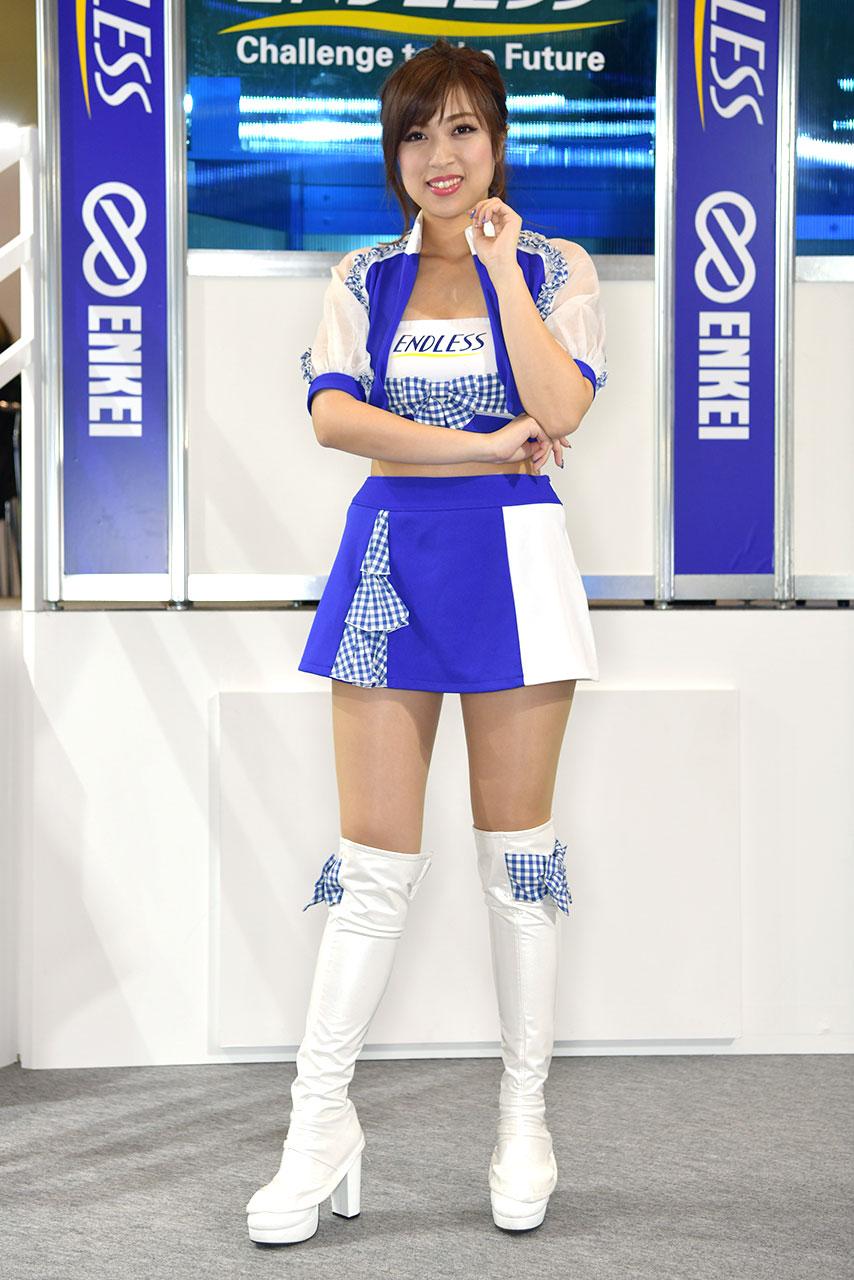 東京オートサロン2020コンパニオンギャラリー<br>エンドレスアドバンス/白川さくら