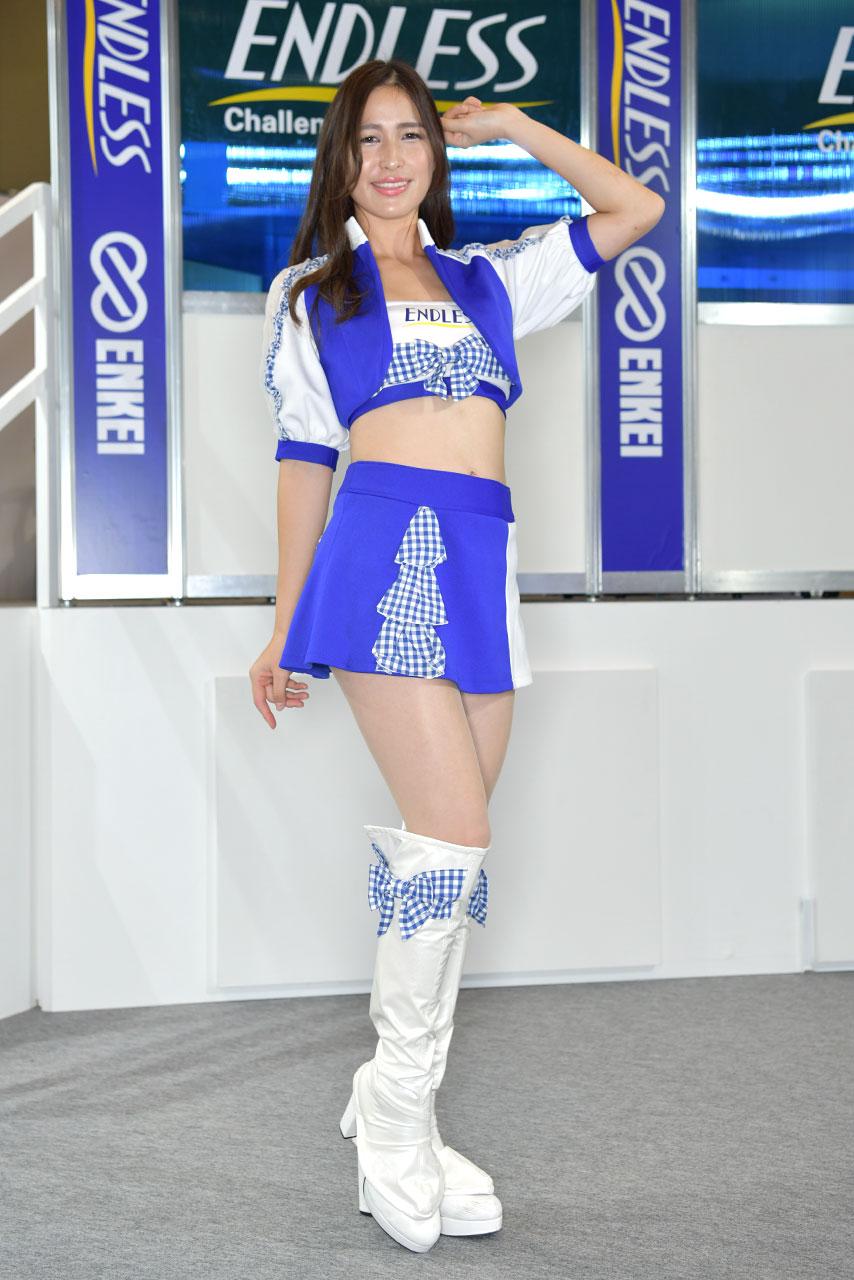 東京オートサロン2020コンパニオンギャラリー<br>エンドレスアドバンス/蒼真海