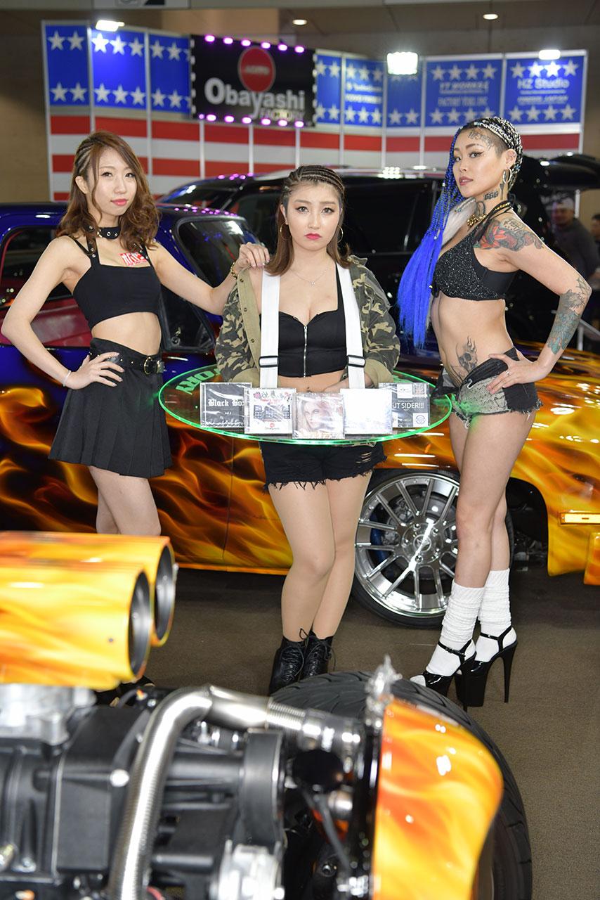 東京オートサロン2020コンパニオンギャラリー<br>尾林ファクトリー