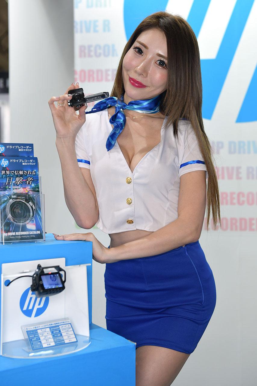 東京オートサロン2020コンパニオンギャラリー<br>Elut&hpドライブレコーダー/Asuka