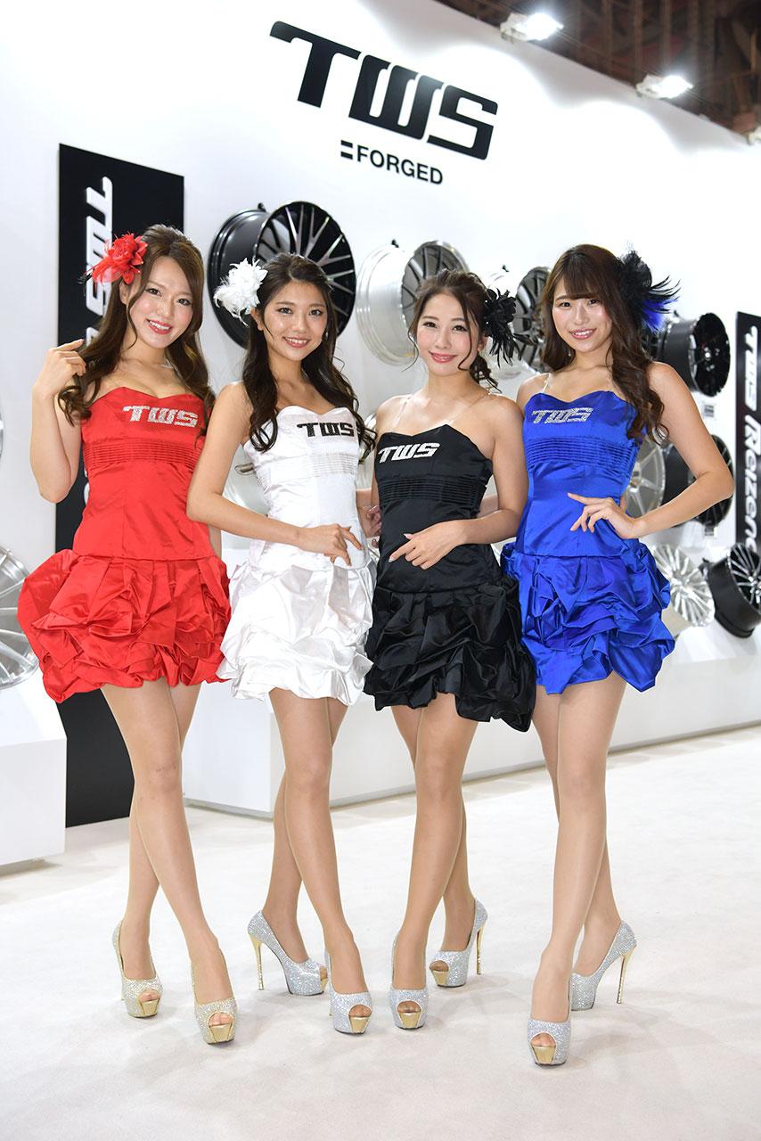 東京オートサロン2020コンパニオンギャラリー<br>TWS
