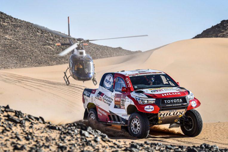 ラリー/WRC | ダカールラリー2020:ダカール初挑戦のアロンソ、ステージ8で2位獲得。二輪は走行見送り