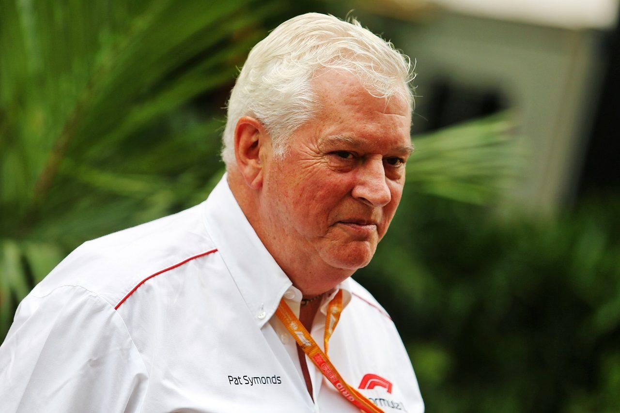 F1のチーフテクニカルオフィサーを務めるパット・シモンズ