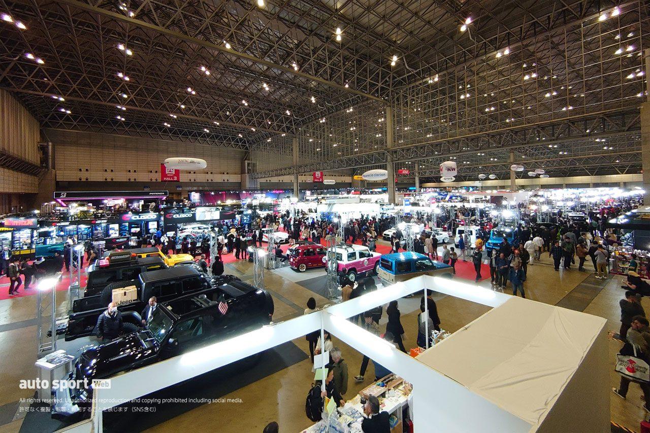 東京オートサロン2020は3日間合計で過去最多33万6060人が来場。2021年は1月15~17日開催