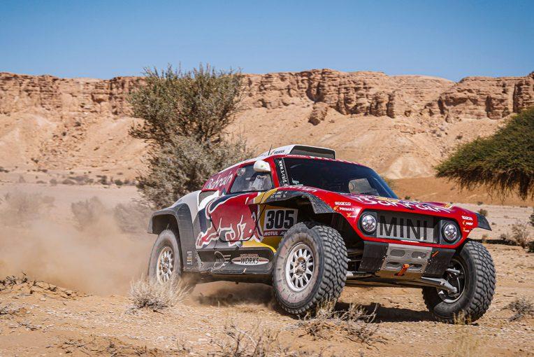 ラリー/WRC   ダカールラリー2020:ステージ9で首位サインツが失速。トヨタのアル-アティヤが24秒差まで迫る