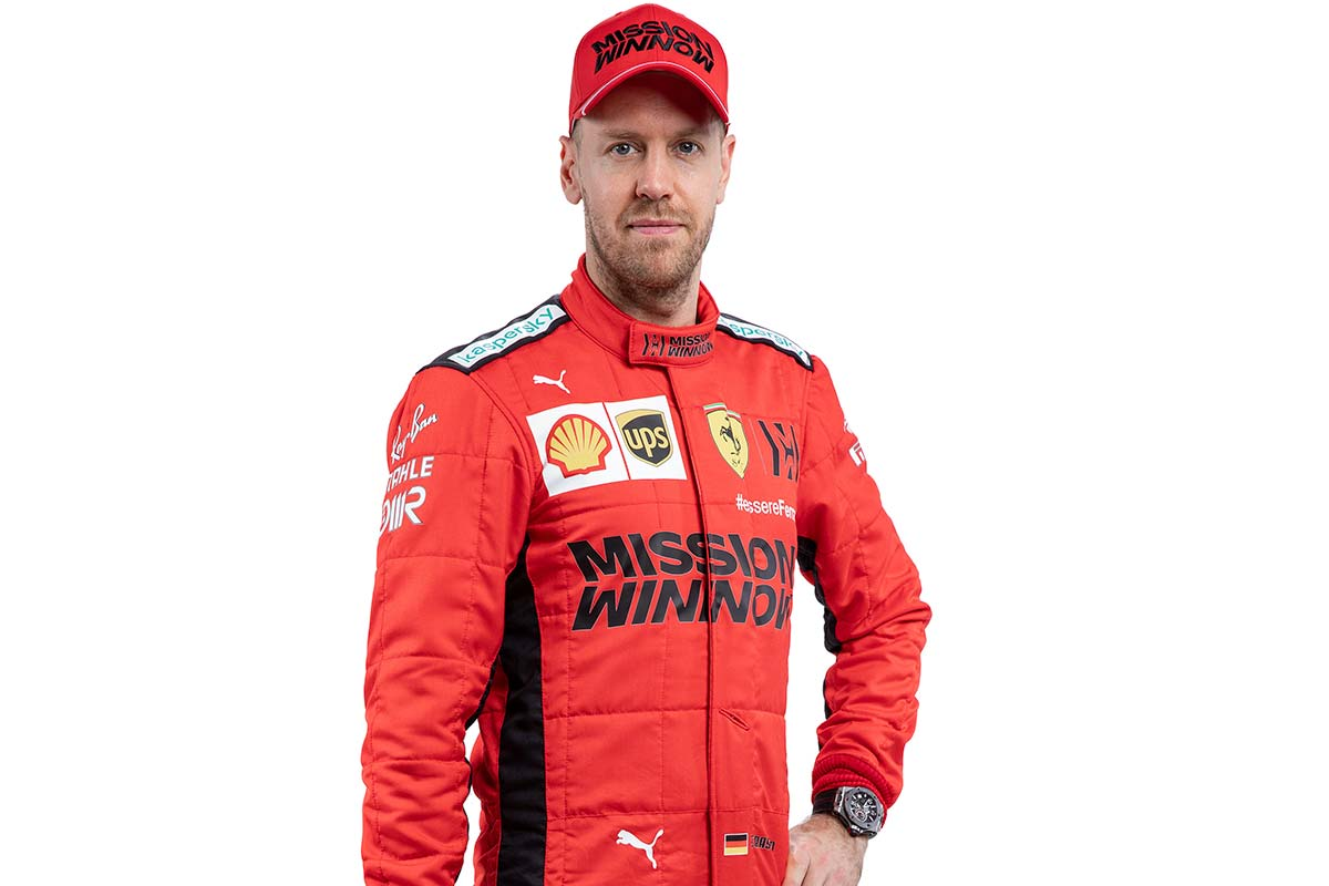 F1 | セバスチャン・ベッテル(Sebastian Vettel)(フェラーリ) 2020年