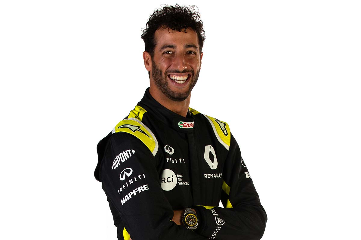 F1   ダニエル・リカルド(Daniel Ricciardo)(ルノー) 2020年