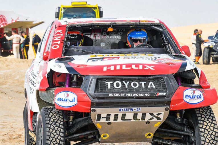 ラリー/WRC | ダカールラリー2020:ステージ10は強風で途中終了。アロンソがマシン横転のクラッシュ