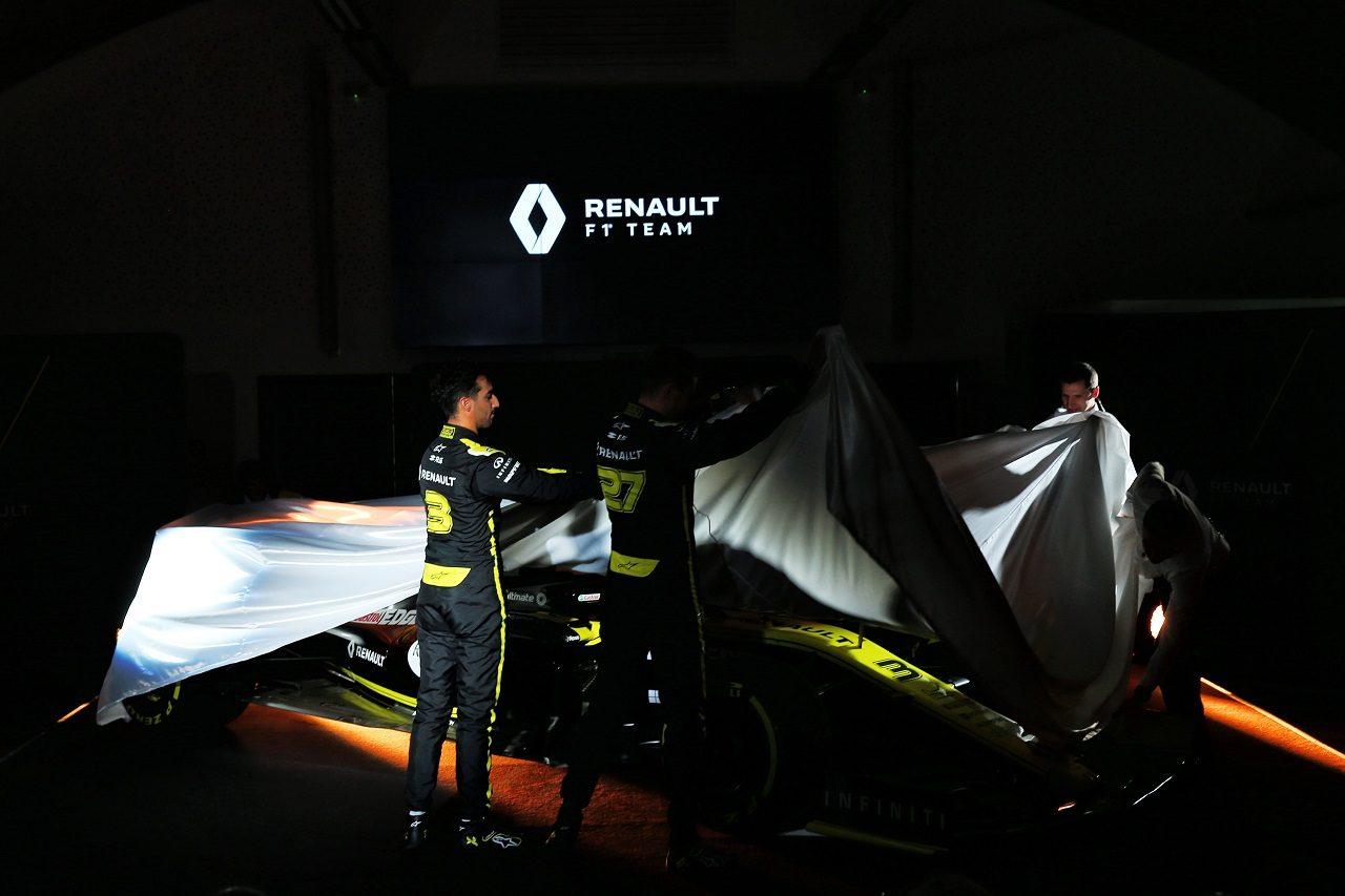 ルノーF1 2019年型マシン『R.S.19』発表会