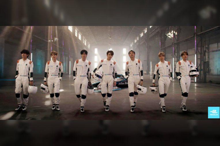 動画 | 【動画】BTS/防弾少年団からメッセージ。フォーミュラEと「ミッションを共有しよう!」