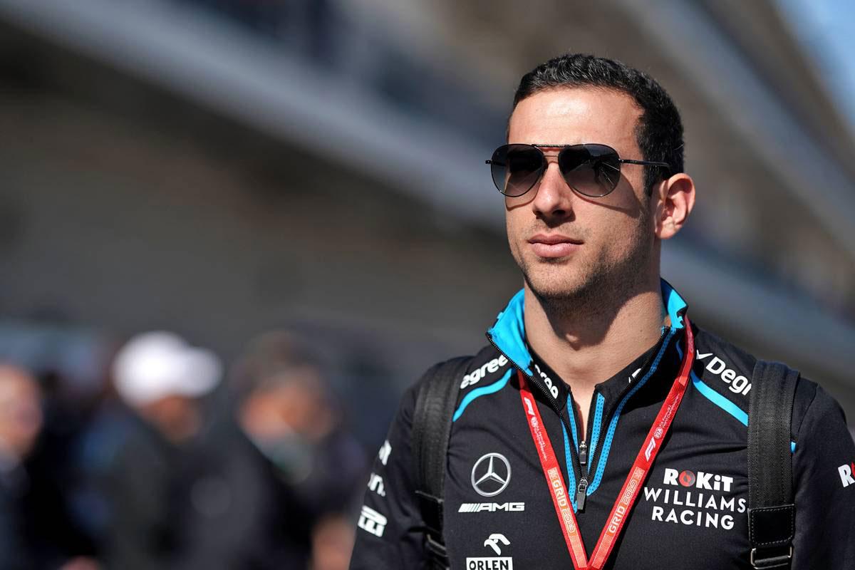 2019年F1第19戦アメリカGP ニコラス・ラティフィ(ウイリアムズ リザーブドライバー)