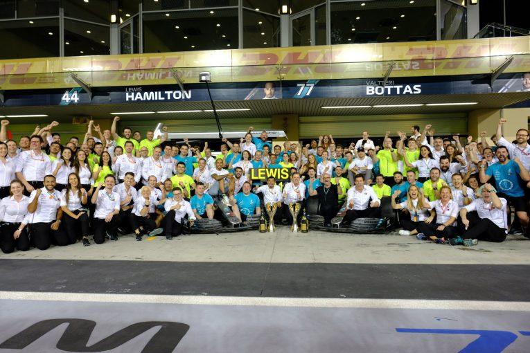 F1 | 2019年F1チャンピオンのハミルトンとメルセデス、2020年のローレウス賞にノミネート