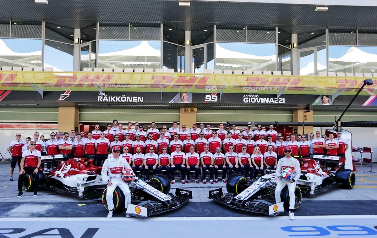 F1 | アルファロメオ・レーシング 2020年