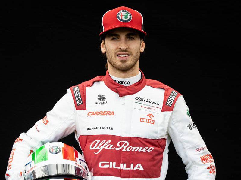 F1 | アントニオ・ジョビナッツィ(Antonio Giovinazzi)(アルファロメオ・レーシング) 2020年