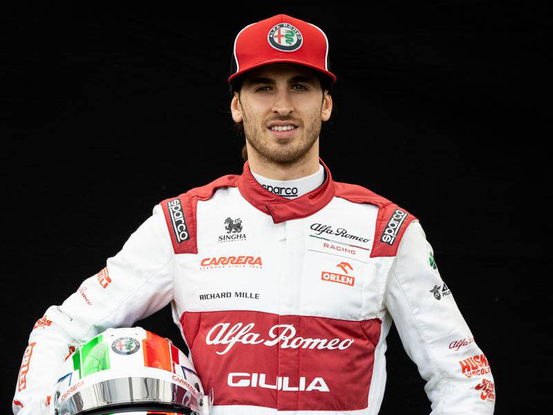 F1 | アントニオ・ジョビナッツィ(Antonio Giovinazzi) 2020年