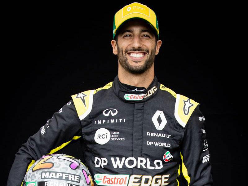 F1 | ダニエル・リカルド(Daniel Ricciardo) 2020年