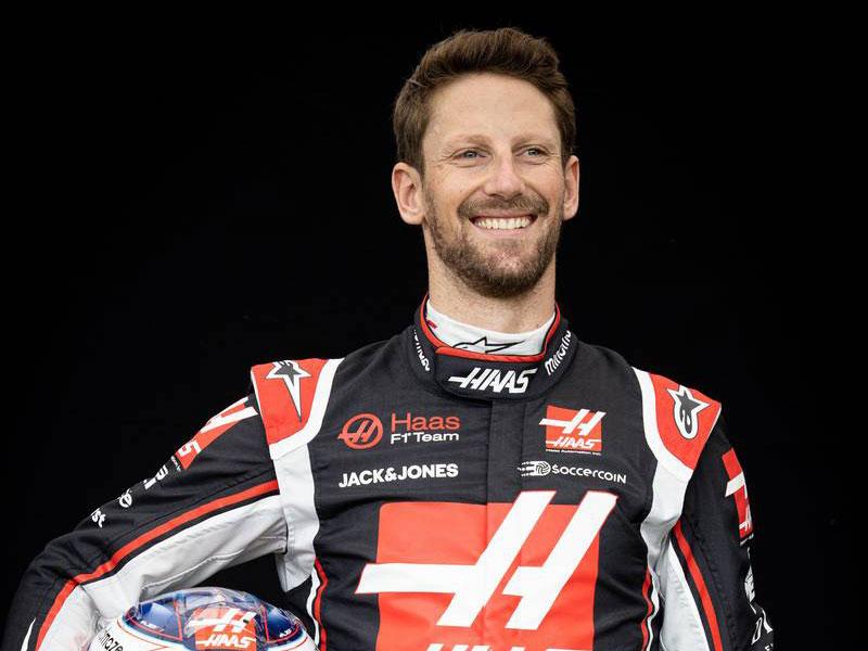 F1 | ロマン・グロージャン(Romain Grosjean) 2020年
