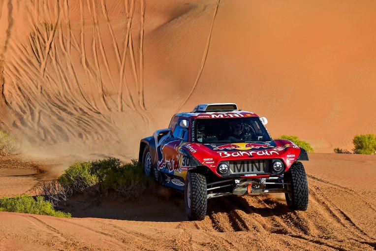 ラリー/WRC | ダカールラリー2020:サインツが3度目の総合優勝に王手。トヨタも絡む総合2位争いは6秒差