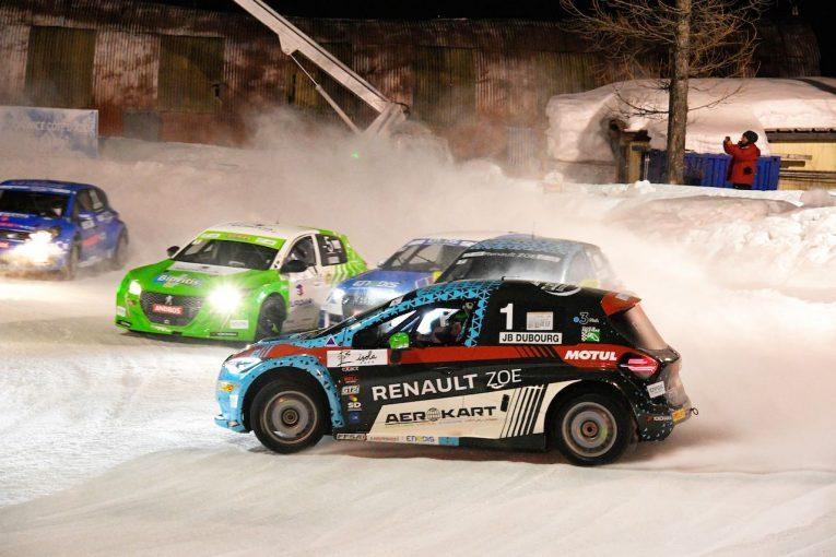 ラリー/WRC   EV新時代アンドロス・e-トロフィー第3戦は、シリーズ4連覇デュブールの『ルノーZOE』が初優勝