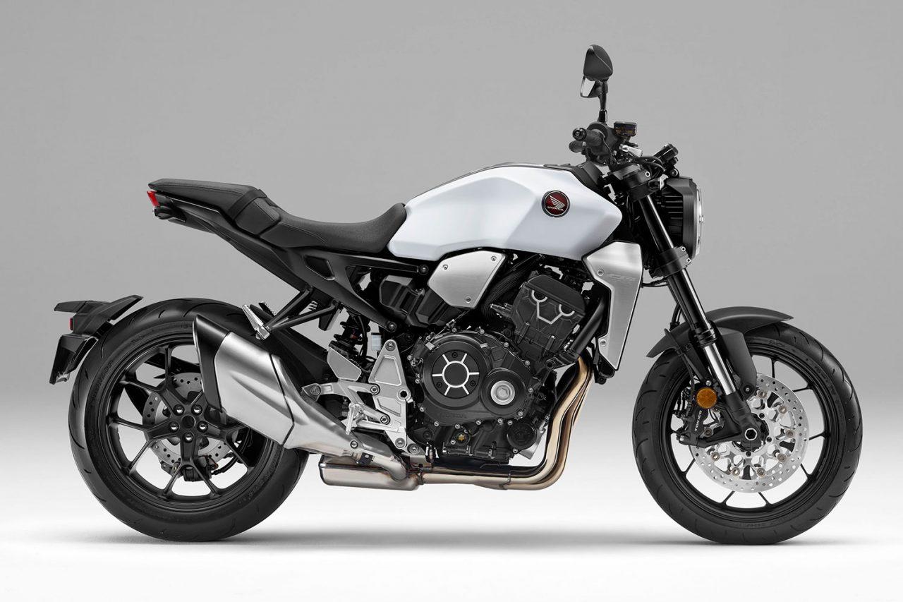 ホンダ、大型ネイキッドロードスポーツCB1000Rに新色ホワイト追加。発売は2月14日