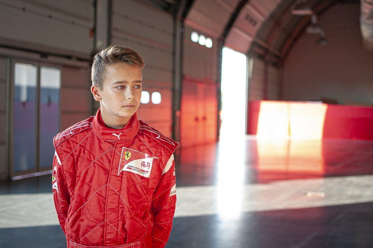 フェラーリF1育成ドライバープログラムのメンバーになったディーノ・ベガノビッチ