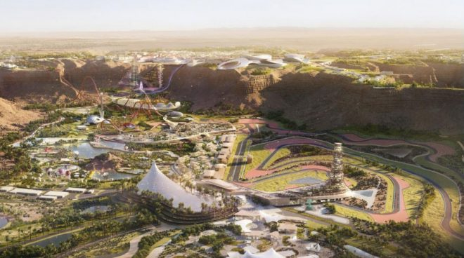 サウジアラビアGP開催に向け、サーキット建設計画が進行中。元F1ドライバーのブルツがレイアウト担当