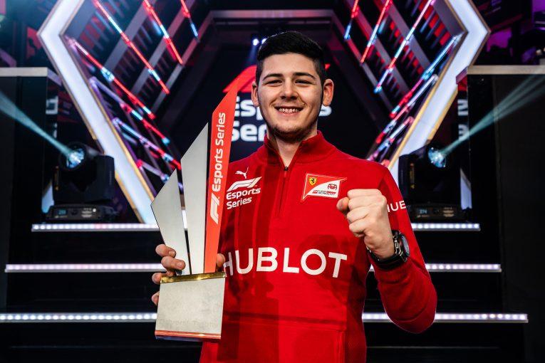 F1 | フェラーリF1代表、Eスポーツは「FDAの一部」と述べ将来的には若手発掘の場になると予想