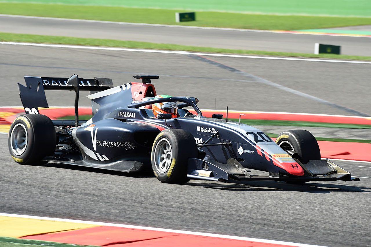 2019年FIA-F3第6戦スパ・フランコルシャン レオナルド・プルチーニ(ハイテックGP)