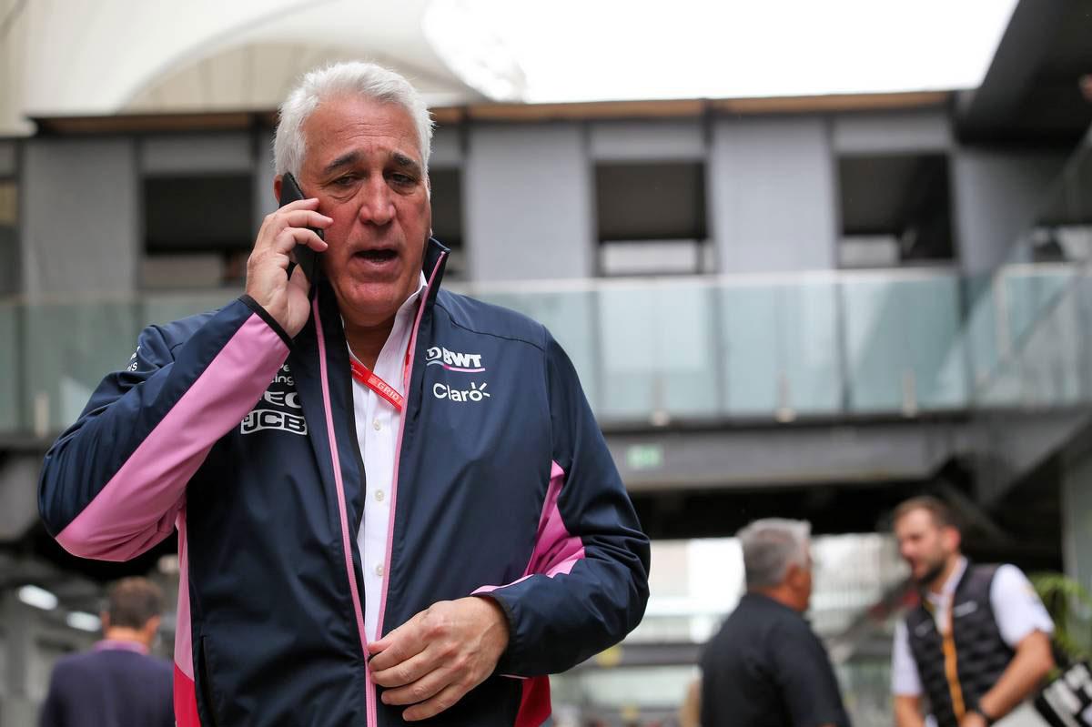 2019年F1第20戦ブラジルGP ローレンス・ストロール(レーシングポイント 共同オーナー)