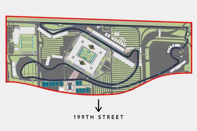 F1マイアミGPコースレイアウト案