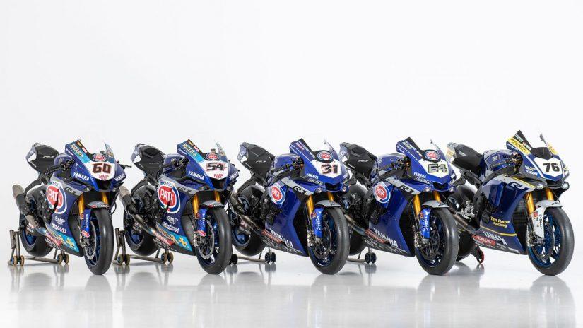 MotoGP | ヤマハ、SBKを戦うYZF-R1のスタジオショット公開。2020年は3チームから5台が参戦