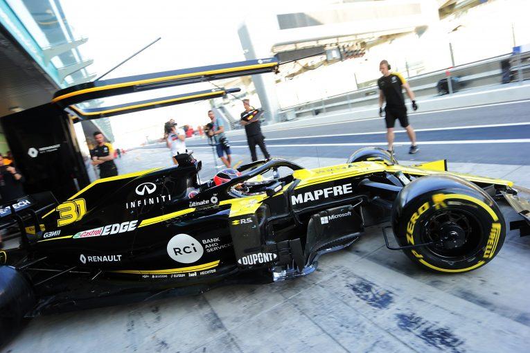 F1 | 長身のオコン、シート合わせを終え「ルノーF1のコクピットは快適」
