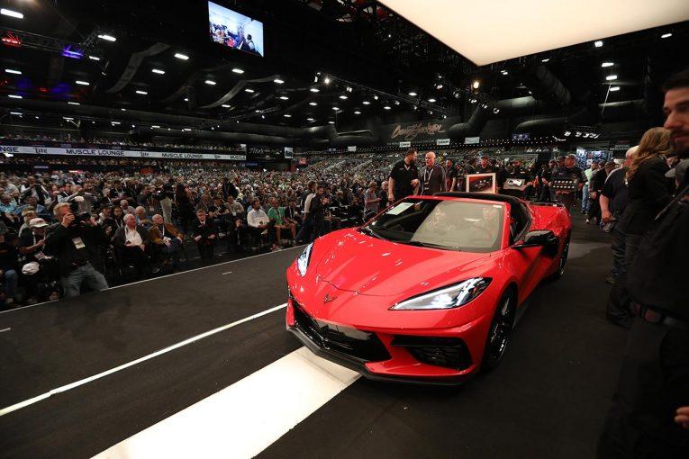クルマ | ミッドシップ・コルベット量産第1号車がチャリティオークションに出品。約3億3000万円で落札