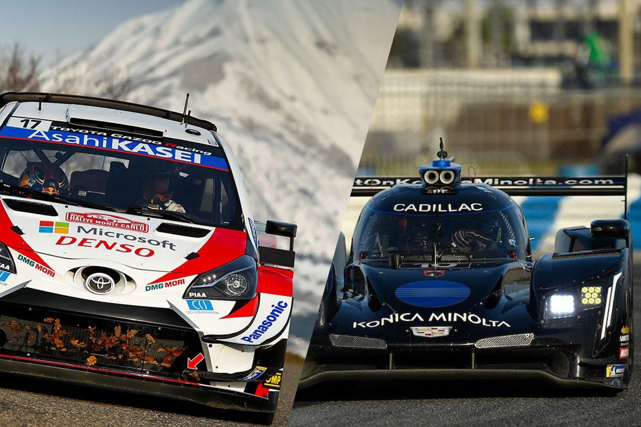 J SPORTS、ラリー・モンテカルロとデイトナ24時間を生中継。その他国内外モータースポーツも