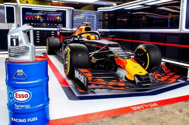 F1 | レッドブルF1、燃料サプライヤー エクソンモービルとの契約を複数年にわたり延長