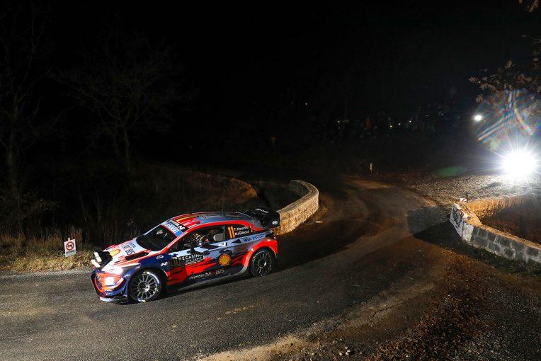 ラリー/WRC | 【順位結果】2020WRC第1戦モンテカルロ SS2後