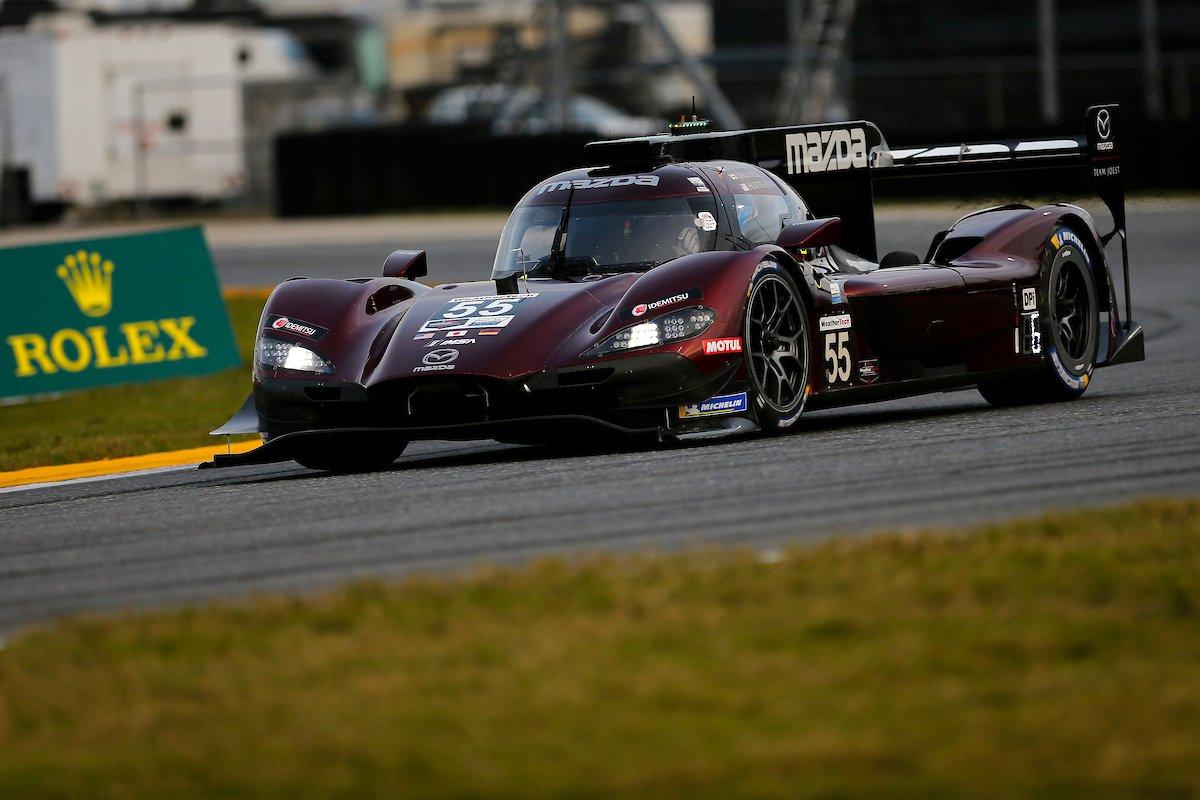 ジャービス速し! 77号車マツダ、2年連続ポールポジション獲得/デイトナ24時間予選
