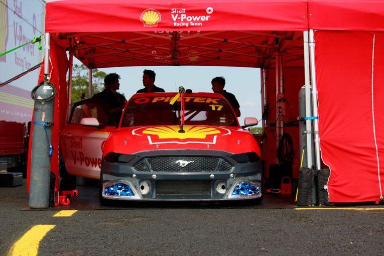 海外レース他   フォードの独走阻止へ。オーストラリア・スーパーカーが開幕前2度目のエアロテスト実施
