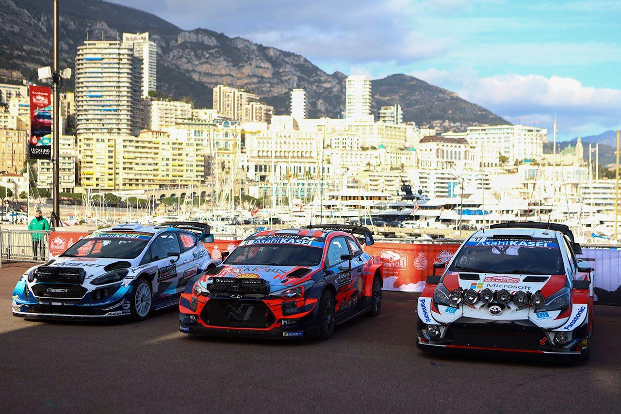 2020年WRCを戦うWRカーたち