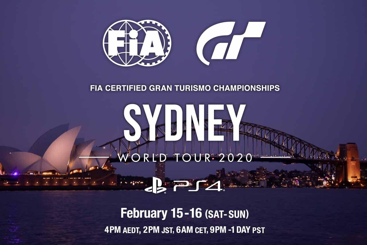 『FIAグランツーリスモ・チャンピオンシップ2020』2月15日開幕。タグ・ホイヤーによる観戦ツアーも