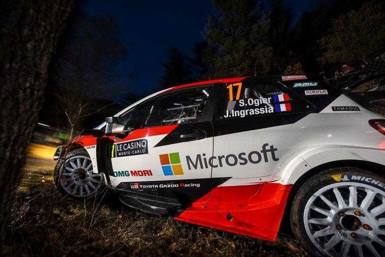 ラリー/WRC | WRC:トヨタ、第1戦モンテカルロ初日は2台がトップ5入り。「今晩はいいスタート」とマキネン代表