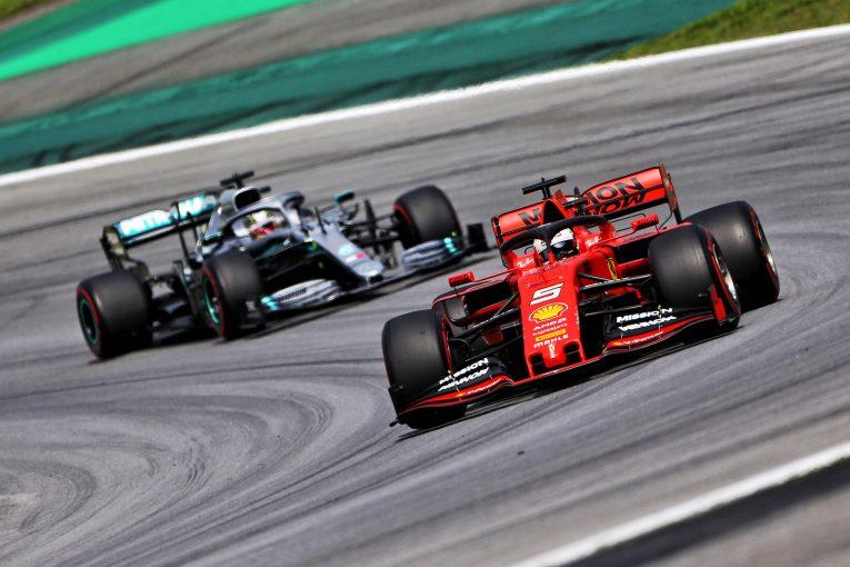 F1 | 「2019年のウイング変更は効果がなかった」コース上のバトルを望むベッテル、2021年のF1新規則に期待