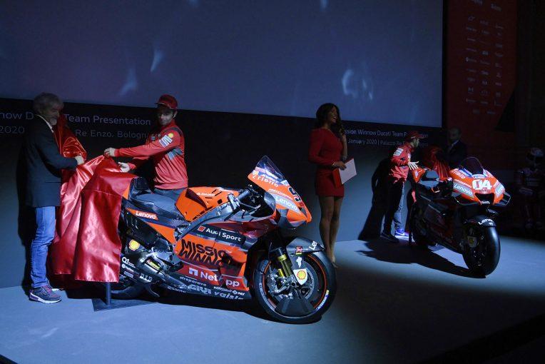 MotoGP | MotoGP:ドゥカティファクトリーが2020年の参戦体制を発表。デスモセディチGP 20をお披露目