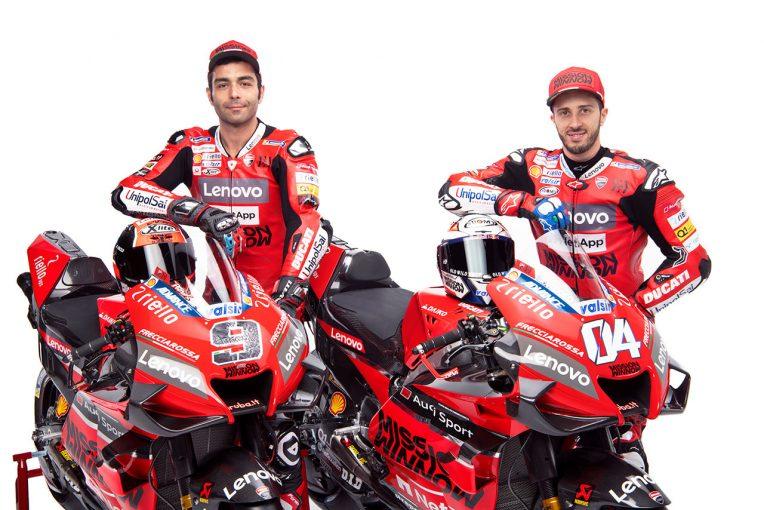 MotoGP | ドゥカティの2020年型MotoGPマシン、デスモセディチGP 20スタジオショットが公開