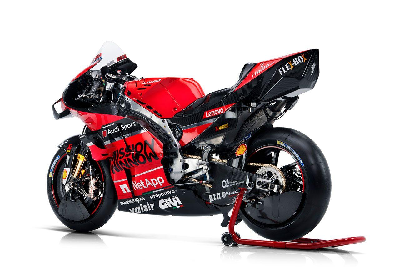ドゥカティ2020年型MotoGPマシン、デスモセディチGP 20