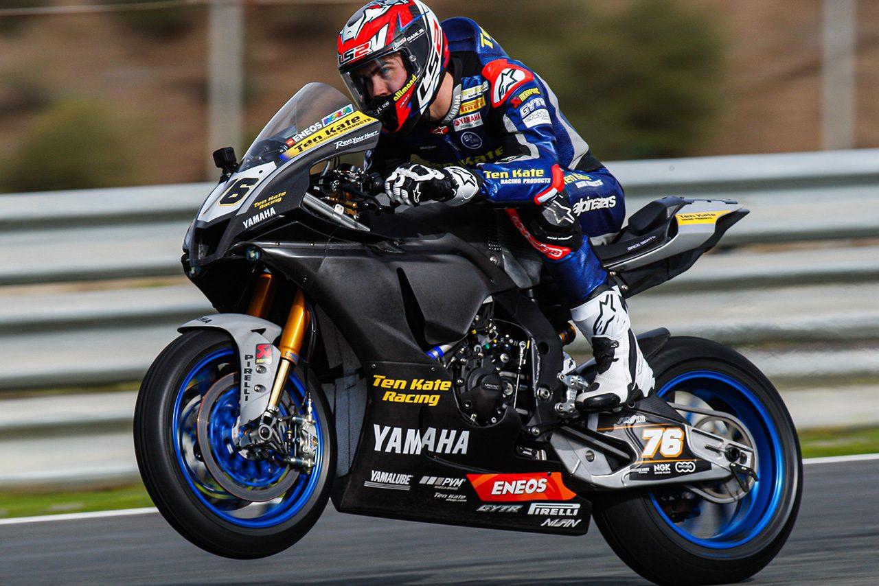 ロリス・バズ(Ten Kate Racing Yamaha)