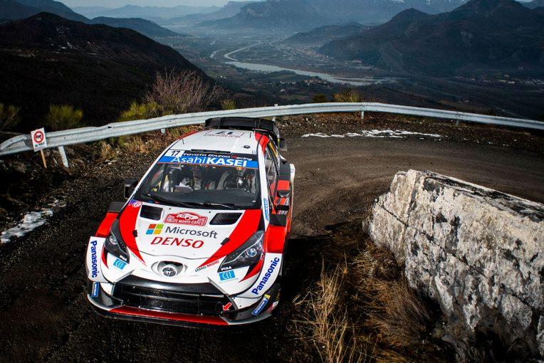 ラリー/WRC | 【順位結果】2020WRC第1戦モンテカルロ SS8後