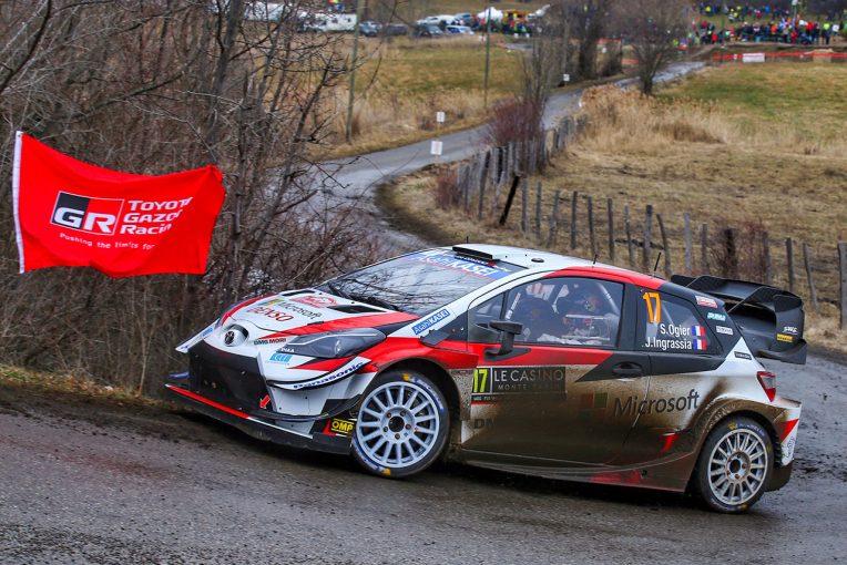 ラリー/WRC | WRCモンテカルロ:競技2日目、トヨタがワン・ツー体制構築。王者タナクは高速クラッシュでリタイア